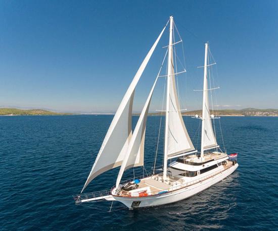 Аренда парусных яхт в Хорватии